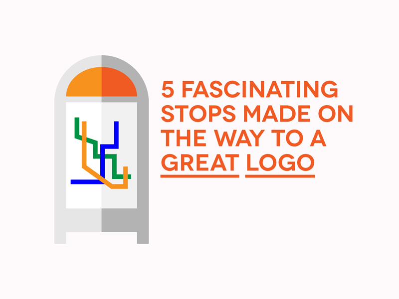 5 Fascinating Stops Made On The Way To A Great Logo