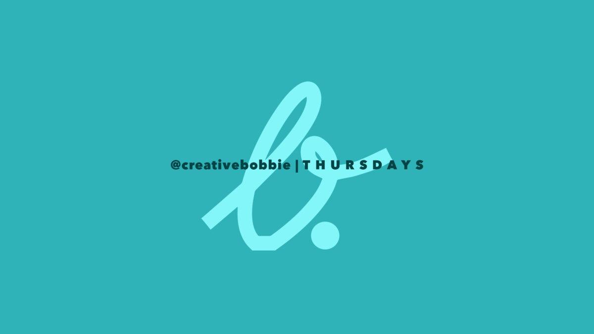 CreativeBobbieTV: A Weekly Dose of Design + Branding.