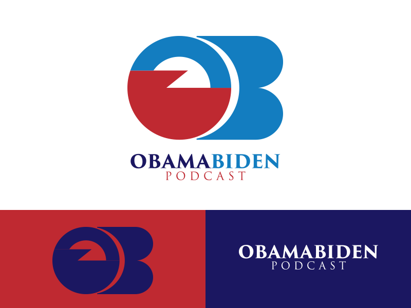Case Study: The Obama-Biden Podcast Logo