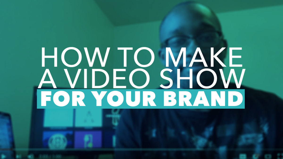 How To Create Your Own Video Show With A Production Schedule