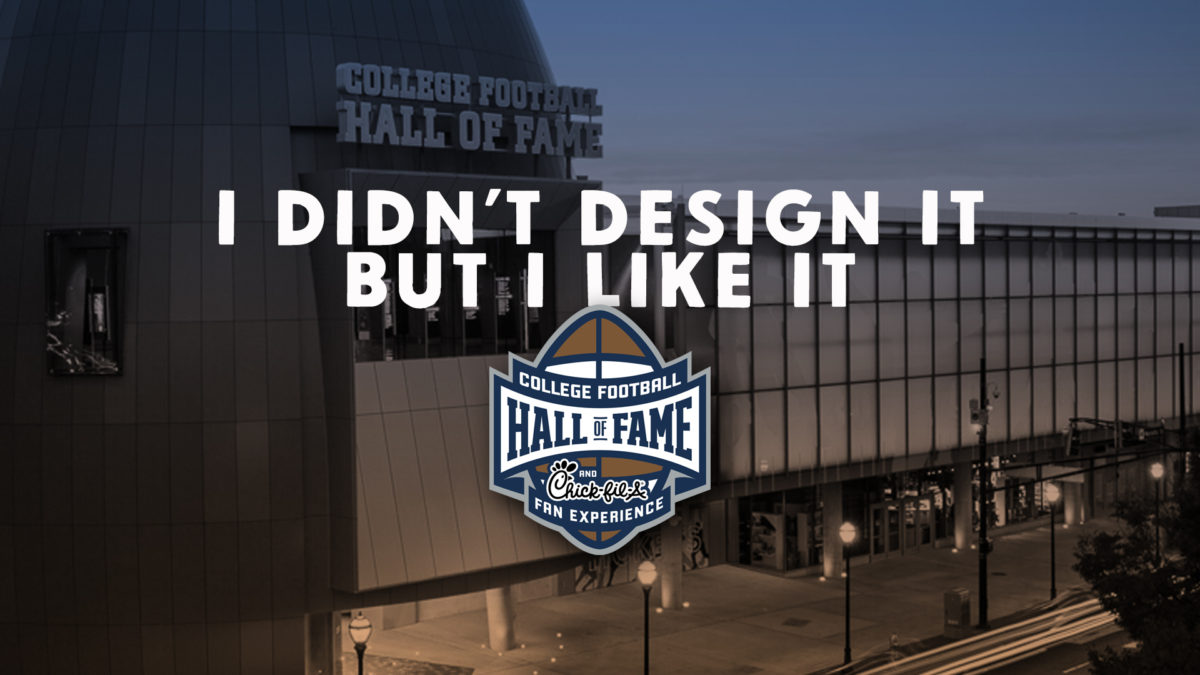 College Football Hall of Fame logo by Harley Creative
