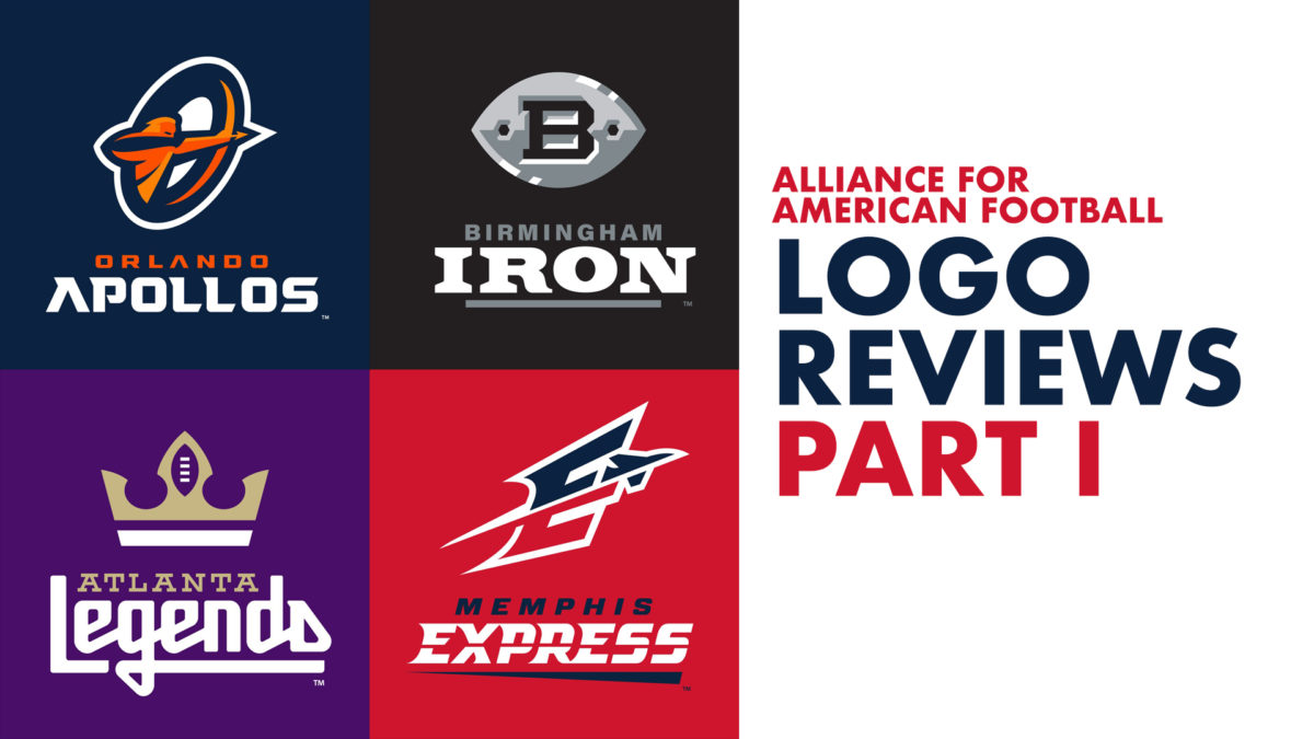 Logo Design Review: Alliance of American Football (Part 1)